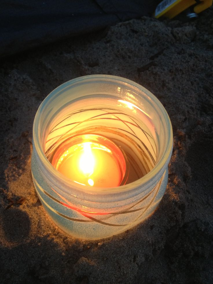 Camping Citronella Candles