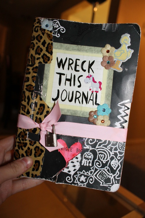 Wreck This Journal Book Cover Ideas : Best images about wreck this journal cover ideas