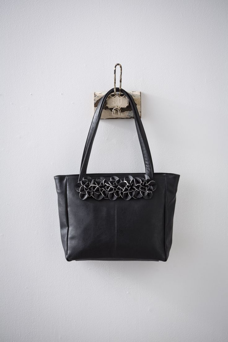 Miasika (Black) available at #zierashoes http://zierashoes.com/page/handbags
