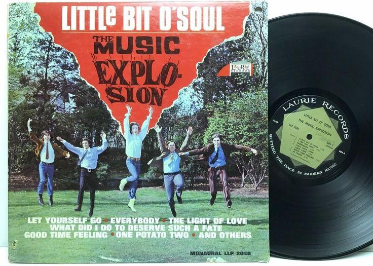 The Music Explosion Little Bit O' Soul Laurie 2040 LP, Vinyl Record, Album stores.ebay.com/capcollectibles