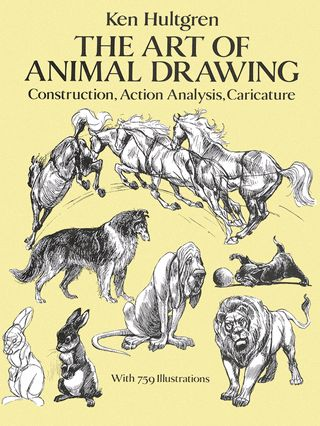 90 best art craft books images on pinterest craft books the art of animal drawing construction action analysis caricature dover art instruction a book by ken hultgren fandeluxe Gallery