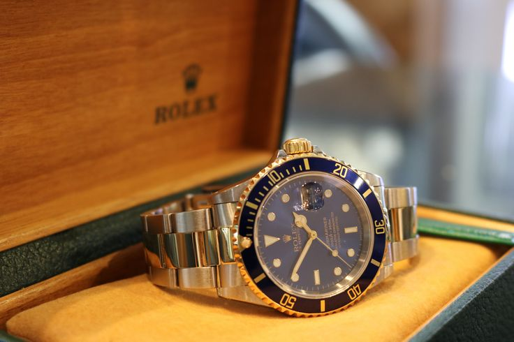 Rolex Submariner 16613, Gold & Steel, Blue Dial & Bezel. Finance available, subject to status.
