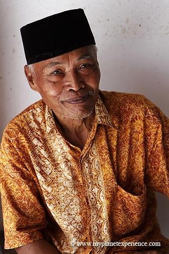 Indonesian man at malang.