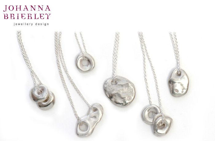 The Shop at AGH features Johanna's Lucky Stone Collection. Originally found on the beaches of Gimli, Manitoba, Canada, hole stones are legend to be symbols of good luck. Casting the stones in precious metal brings strength and durability to the organic shapes and creates charms of long-lasting luck and good fortune. Price varies by style.