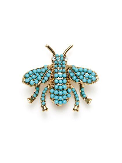 Bee Brooch by Kenneth Jay Lane