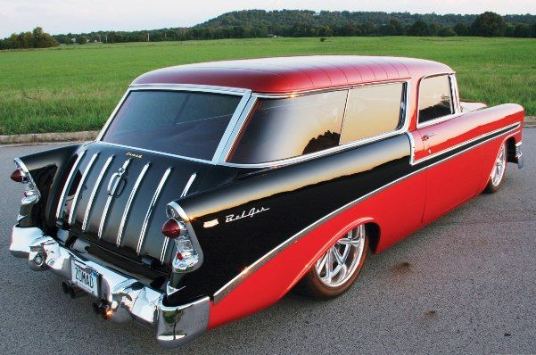 10 Best images about '56 Chevy Nomad on Pinterest ...