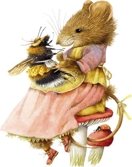 Marjolein Bastin - Vera Mouse I just had to pin this cute pic, and I love Marjorie's art.