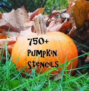 750+ Pumpkin Carving Stencils- Stars Wars, animals, scary faces, Angry Birds, The Beatles, Taylor Swift and the list goes on and on!