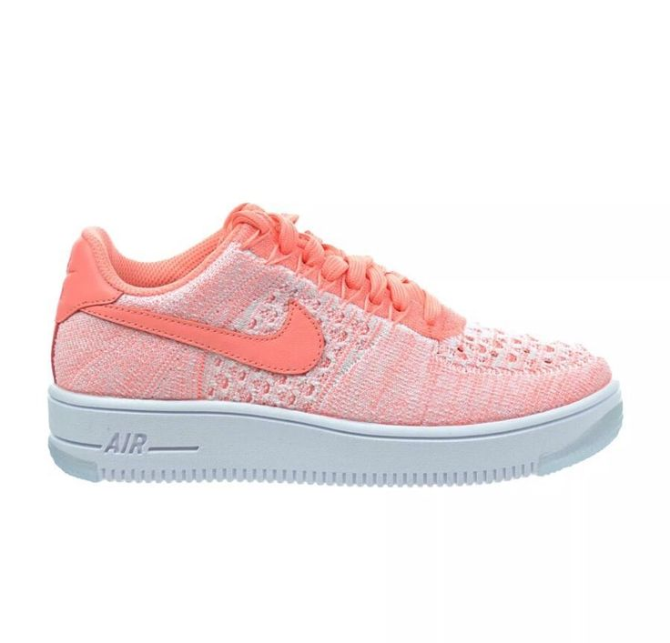New Nike Air Force One AF1 Flyknit Low Women's Sneakers, Size 10 820256 600  | eBay