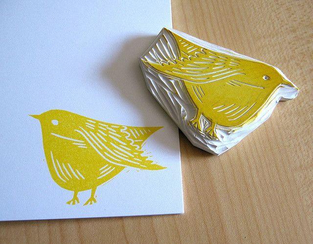 bird stamp