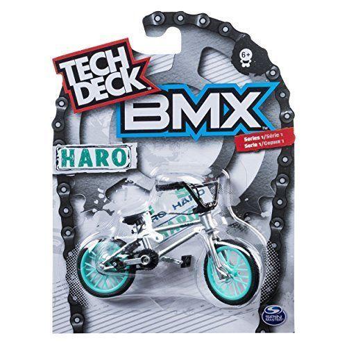 Tech Deck - BMX Finger Bike - Haro - Grey
