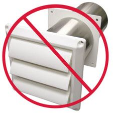 Seal Your Dryer Exhaust Vents. A $20 fix can save on your electric bill.