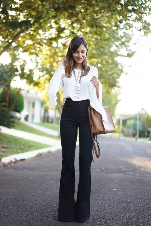 Awesome pants and top.