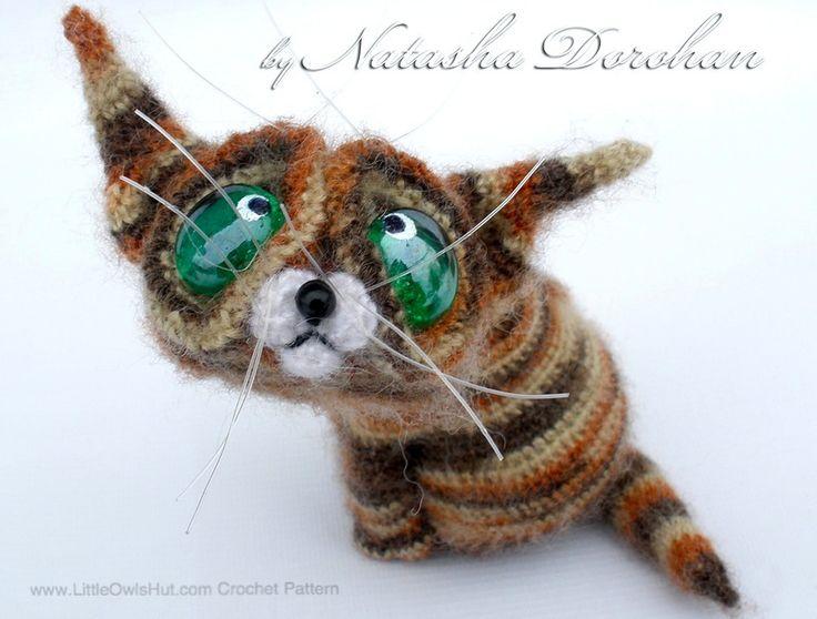 Amigurumis Gato Siames : Tutorial gato amigurumi cat english subtitles youtube