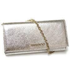 BRAND NEW JIMMY CHOO NIKITA CHAMPAGNE GLITTER WALLET - Whispers Dress Agency - Purses & Wallets - £350