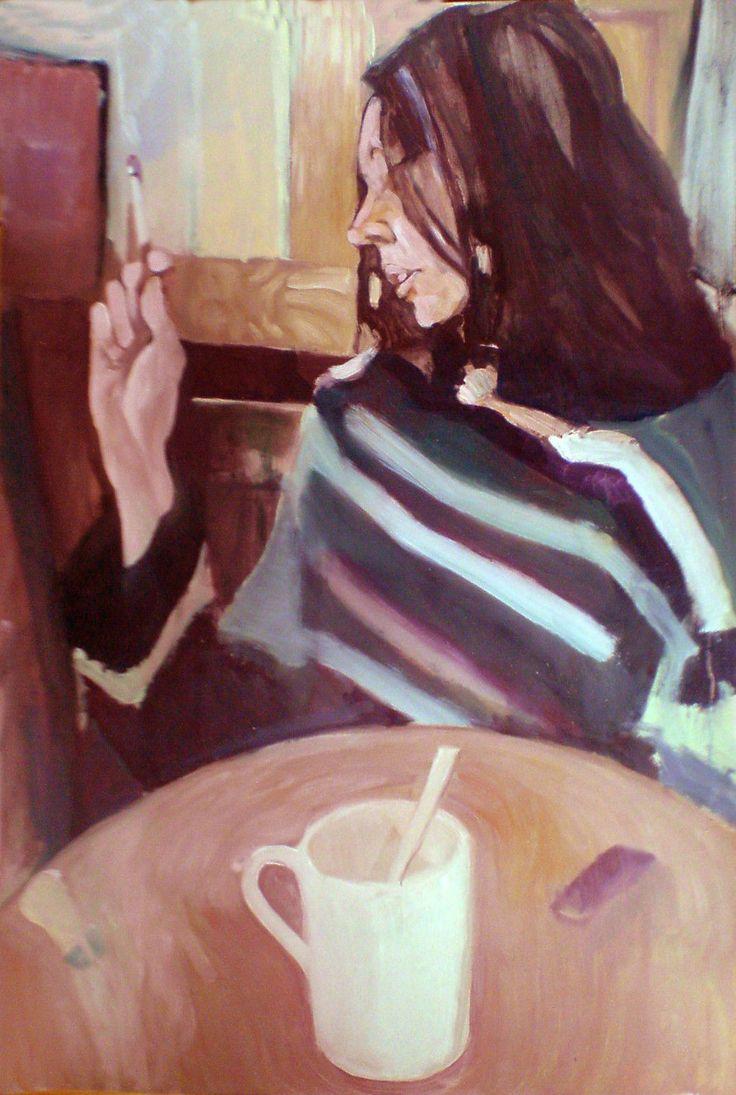 Beata, obraz olejny na płótnie Anna Michałowska