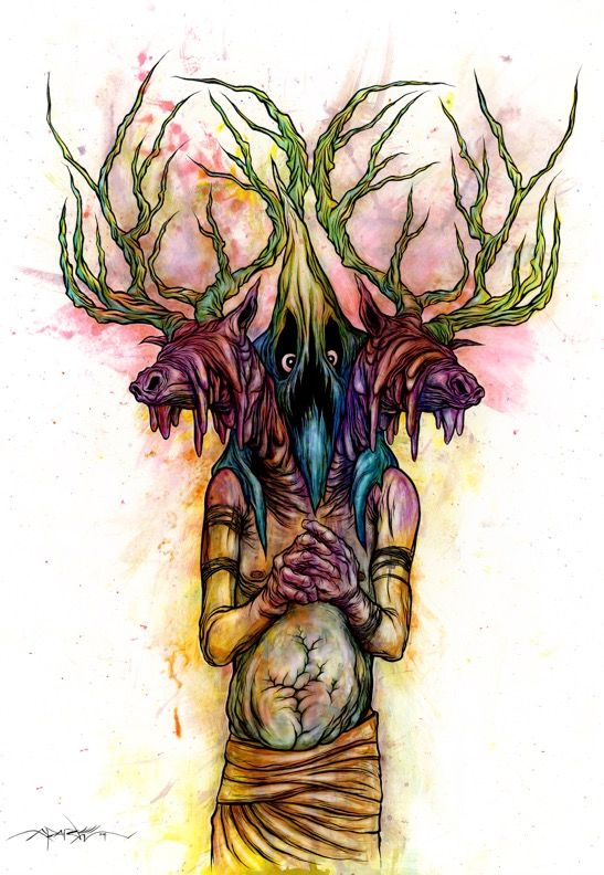 Awesome Alex Pardee Artwork Used In 'Digging Up the Marrow' (Exclusive) -