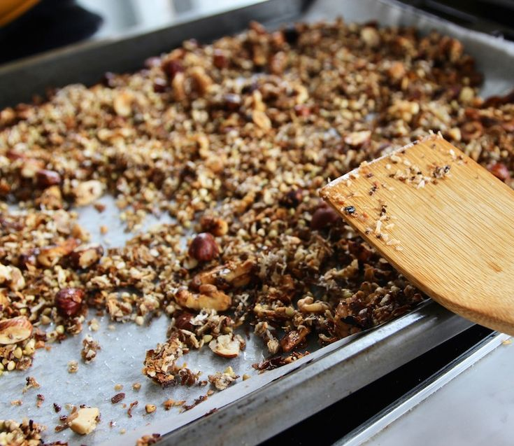 Hemgjord granola | Glutenfritt Liv