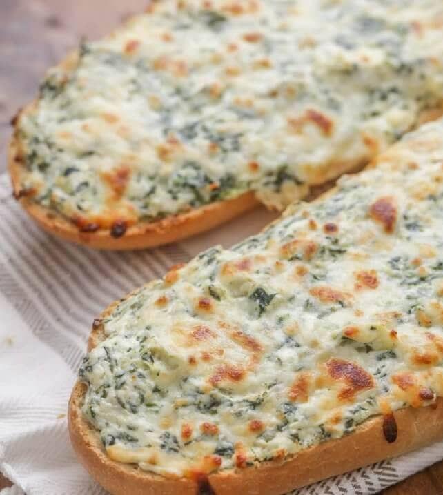 Cheesy Spinach Artichoke Bread (+VIDEO)   Lil' Luna ...