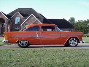 1955 Chevy Bel Air 2-Door Sedan.