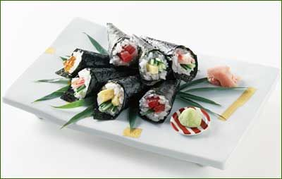 Handrolled Sushi Ideas from Just Hungry