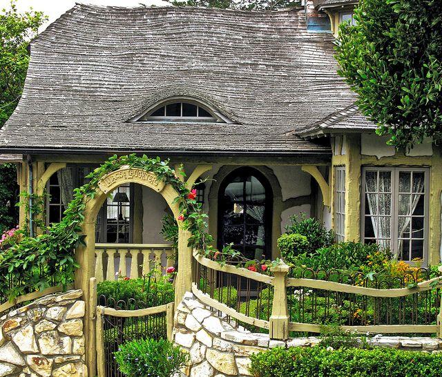 136 Best Fairytale Cottage Images On Pinterest
