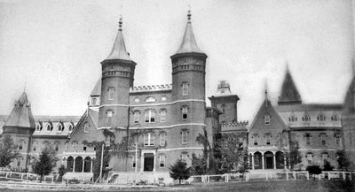 Lakeland - Central State Hospital for the Insane, built in 1869 on Lagrange Rd. near Anchorage. University of Louisville Photographic Archives