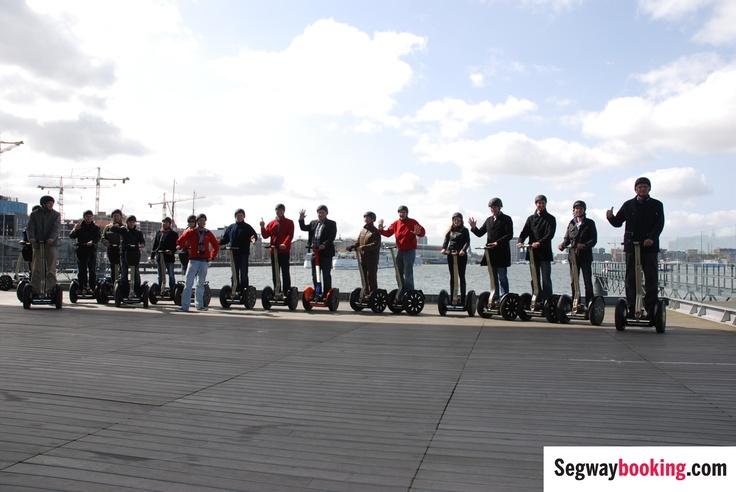 Segway PT tour bedrijfsuitje