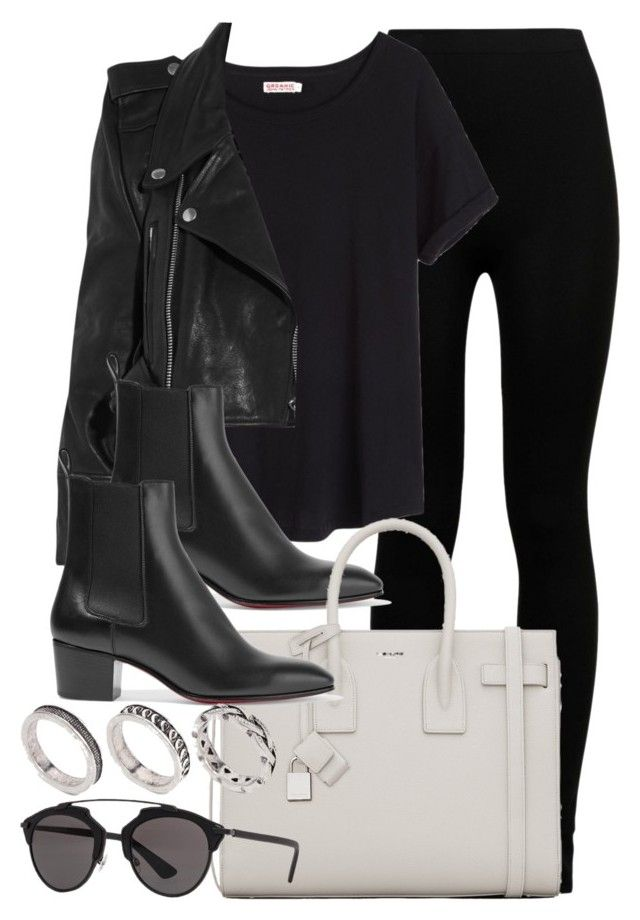 """""""Sin título #11884"""" by vany-alvarado ❤ liked on Polyvore featuring Wolford, Organic by John Patrick, Vetements, Christian Louboutin, Yves Saint Laurent, Christian Dior and ASOS"""