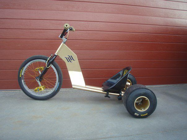 how to build a drift trike out of a bike