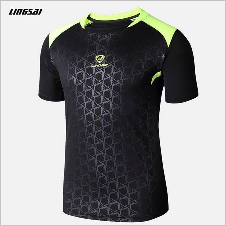 Lsブランド男性テニスシャツアウトドアスポーツoネッククイックドライ通気性ランニングバドミントンメンズ半袖tシャツトップスを·ティー