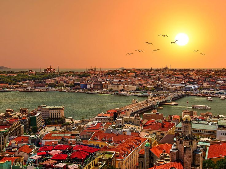 19. Istanbul straddles Europe and Asia across the Bosphorus Strait. Home to famous attractions like the Blue Mosque and the Hagia Sophia, it's also known for its diverse culinary scene, which includes everything from freshly caught fish and succulent kebabs to Asian and Italian dishes.