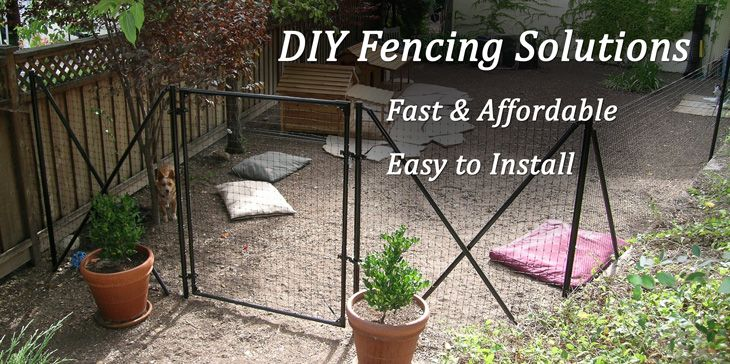 Dog Fence Benner S Best Friend Fence Diy Dog Fencing