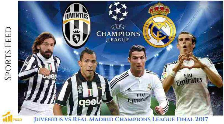 Juventus vs Real Madrid Champions League Final 2017