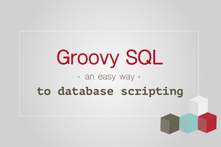 If you have to write some database script at SQL level then try out Groovy SQL. Why? This story is the answer. #groovy #SQL #programming #blog #database #script