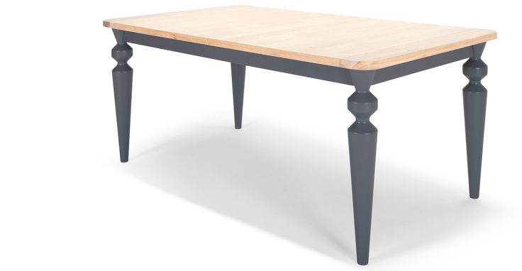 Betty Dining Table, Oak and Grey