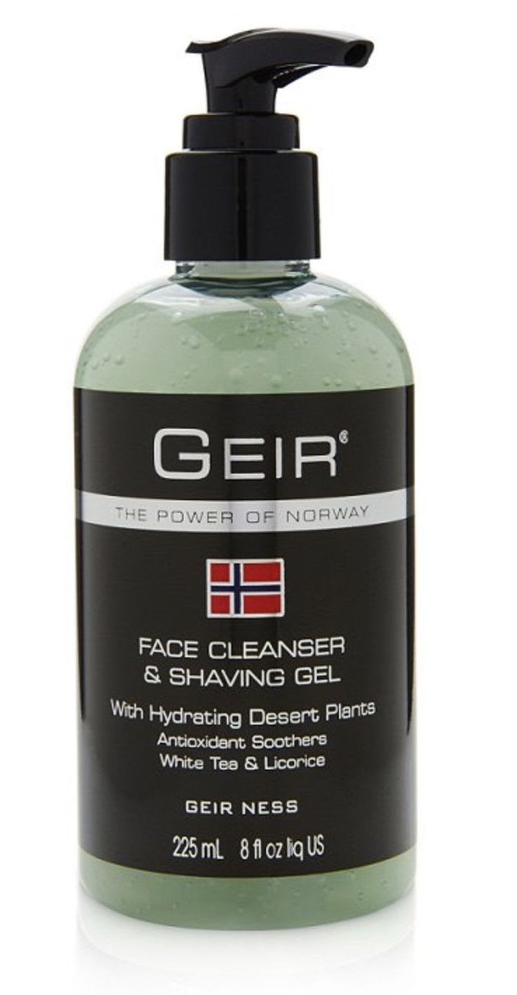 Geir Ness Face Cleanser & Shave Gel
