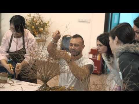 """Семинар Славы Роска """"Креативный букет"""" Гуанчжоу - YouTube"""