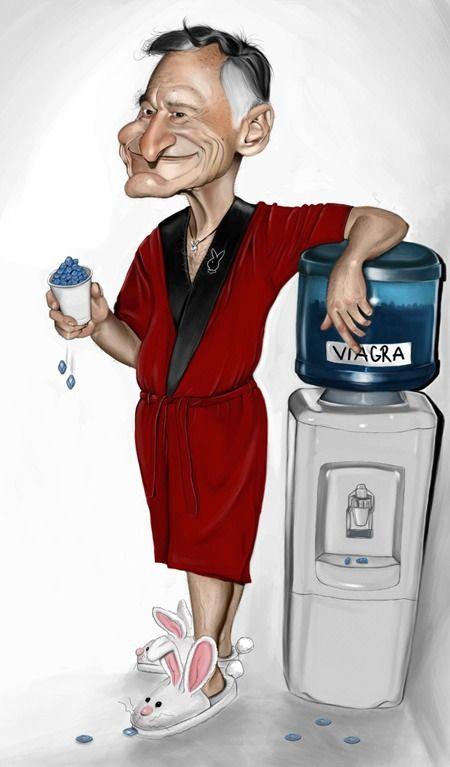 Hugh hefner and viagra