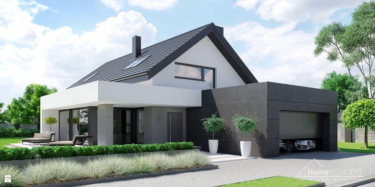 Projekt domu HomeKoncept 51 - zdjęcie od HomeKONCEPT Projekty Domów Nowoczesnych - Domy - Styl Nowoczesny - HomeKONCEPT Projekty Domów Nowoczesnych