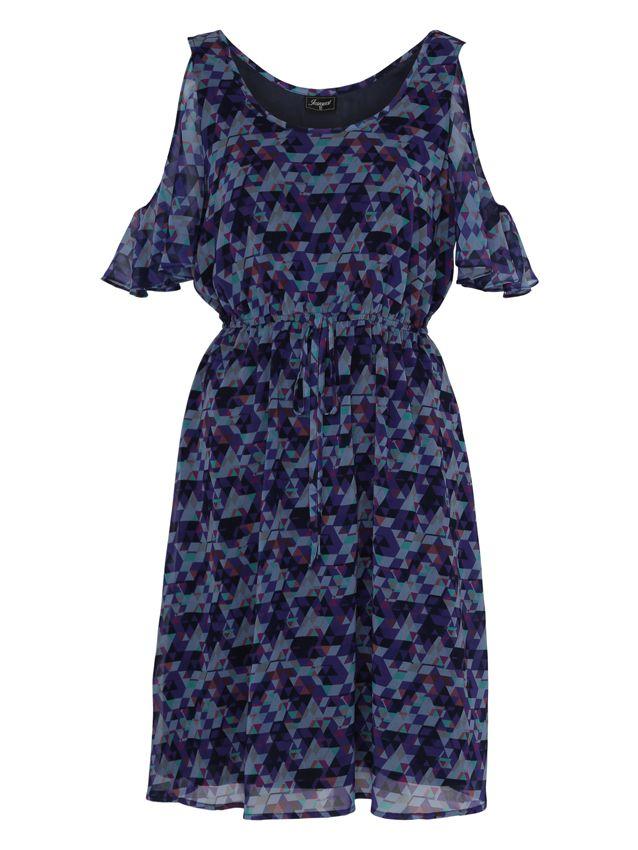 'Rachel' Printed Dress