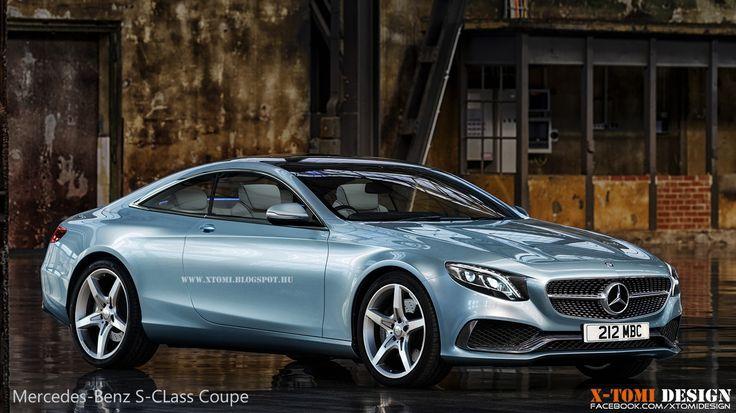 Mercedes Classe S Coupé , superbe en bleu ciel métallisé