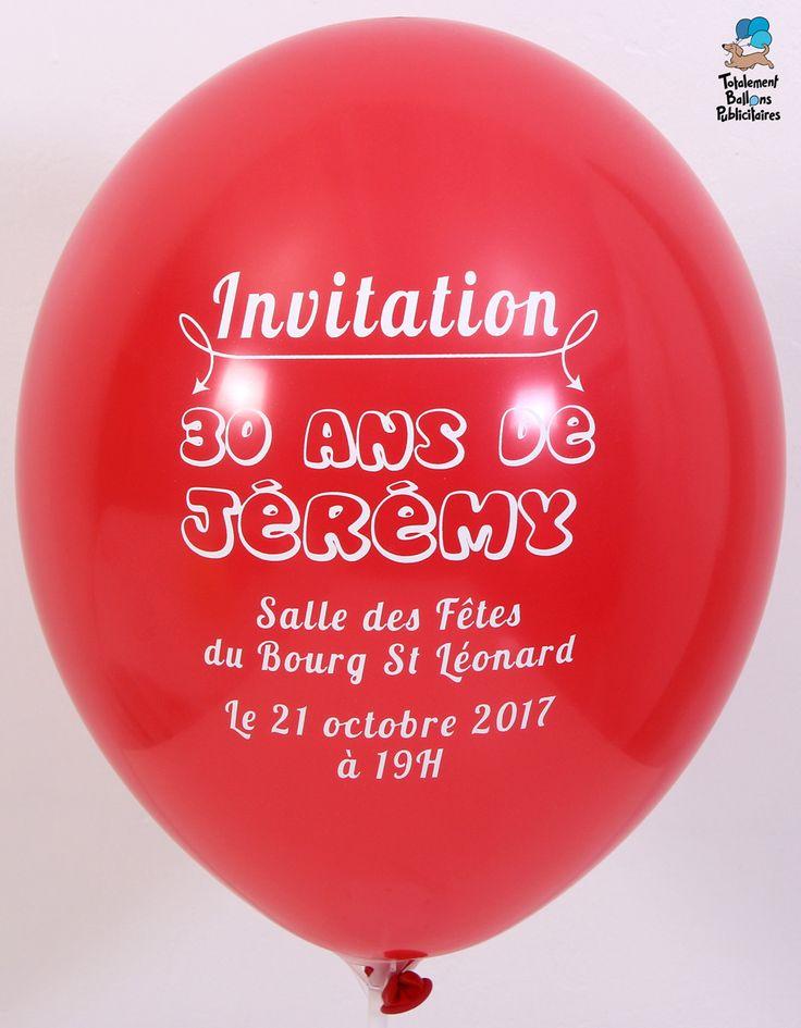 Hervorragend Plus de 25 idées uniques dans la catégorie Invitation 30 ans sur  TL23