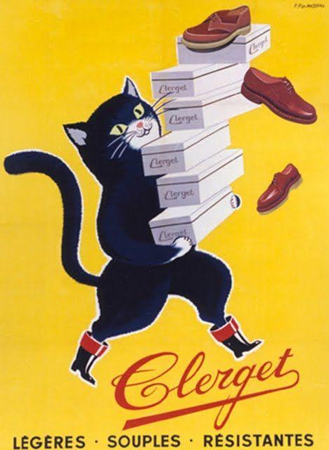 Vintage French poster, via Animalarium