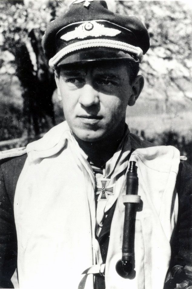 """Siegfried Freytag  """"The Malta Lion"""" He was officially credited with 102 victories of which 49 victories were claimed over the Eastern Front. Among his victories over the Western Front are at least 2 four-engine bombers. Freytag had been nominated for the Oak Leaves to Knight's Cross of the Iron Cross, but the war ended before the paperwork had been processed."""