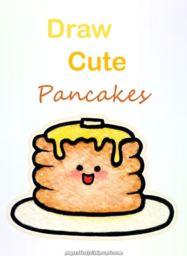 29+ Cute pancake easy cute food coloring pages ideas in 2021