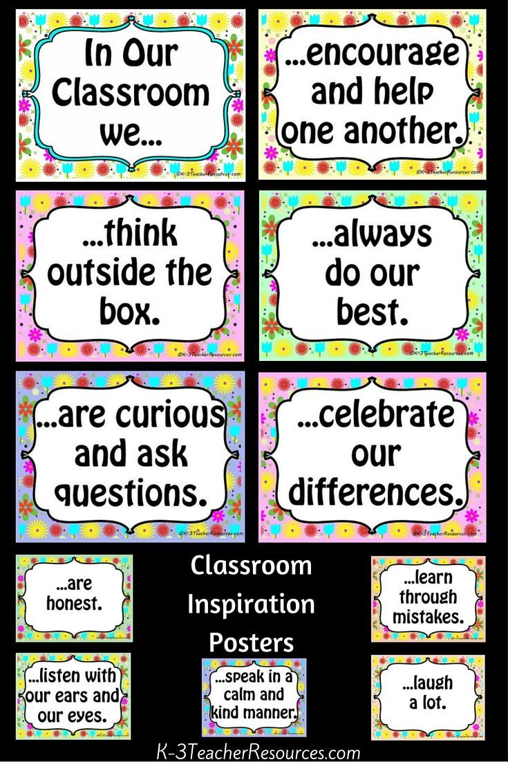 11 x Posters to encourage teamwork and acceptance of others in your classroom...