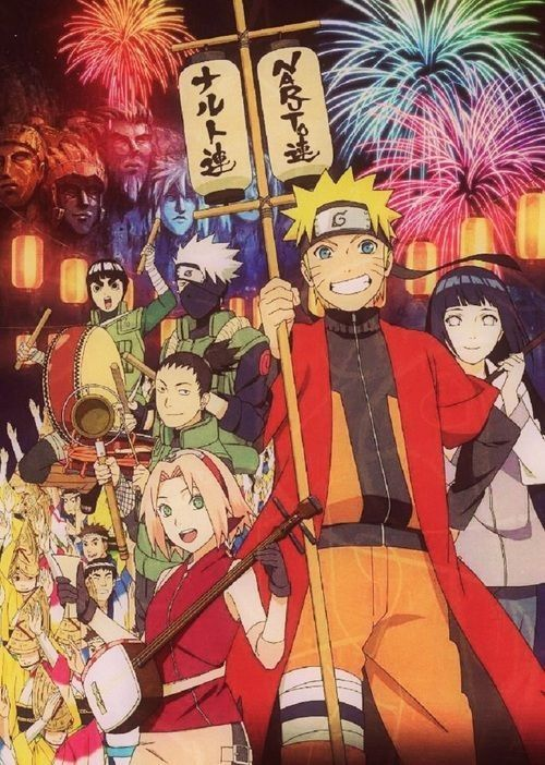 I know that there are a lot of people who hate Naruto, but I can't help but to love it. It makes me want to be a better person.