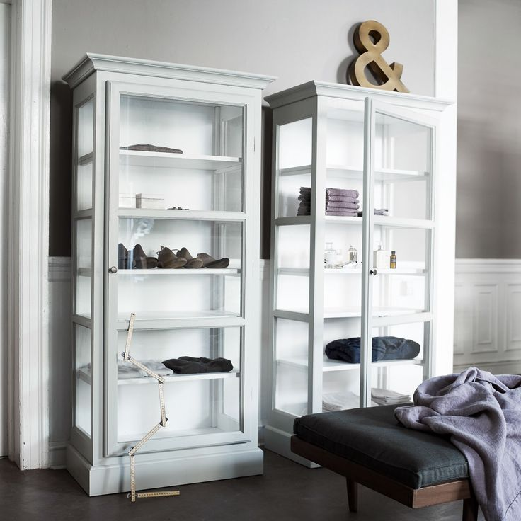 Lindebjerg Design Glas Vitrinen in skandinavischem Design