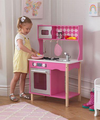 Another great find on #zulily! Sweet Sorbet Kitchen Play Set #zulilyfinds